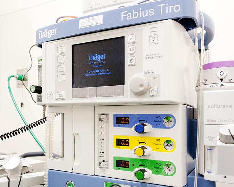 高性能麻酔機ドレーゲル Fabius Tiro